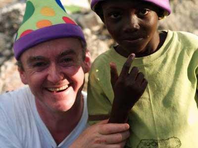Peter Hanley | Clowns for Haiti